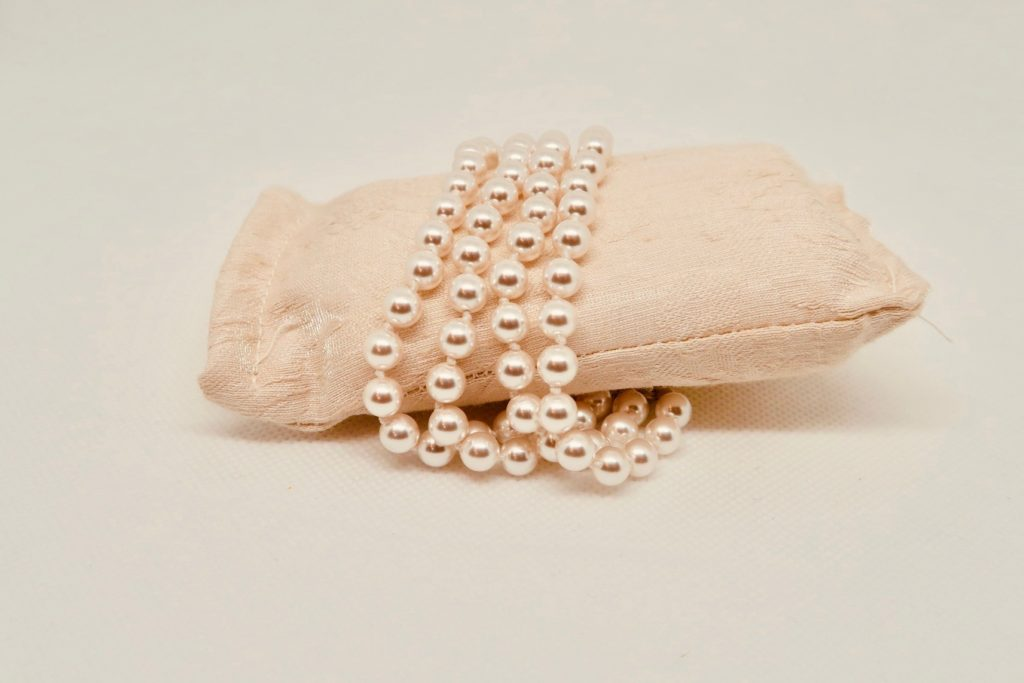 photo d'un bracelet de perles
